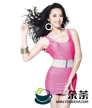 微博女王姚晨分享私家喝茶减肥谱
