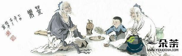 嗜茶如粮的藏族人茶俗