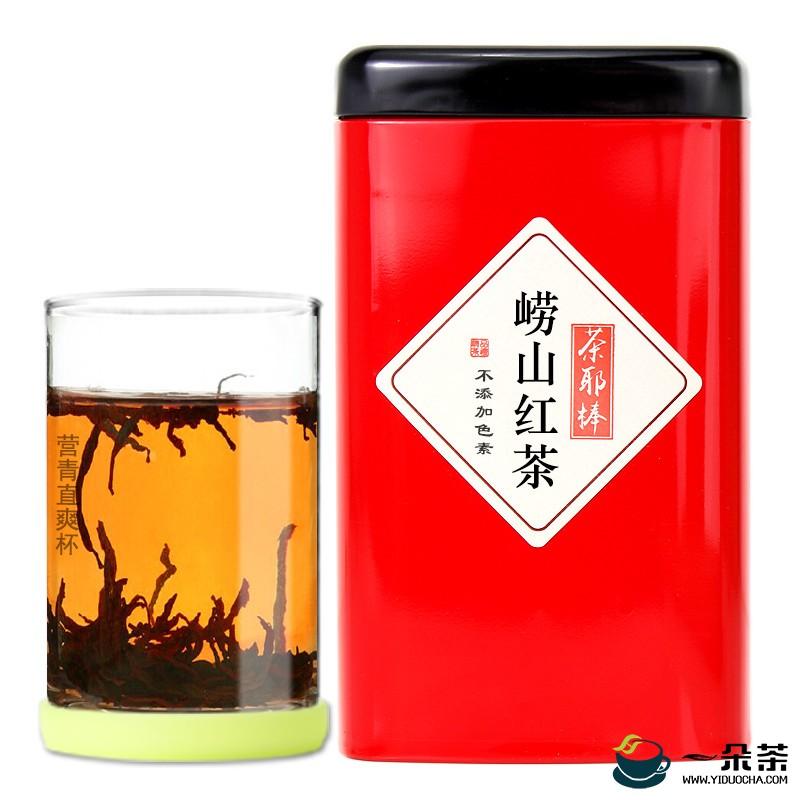 """崂山红茶""""蒸""""成保健茶"""