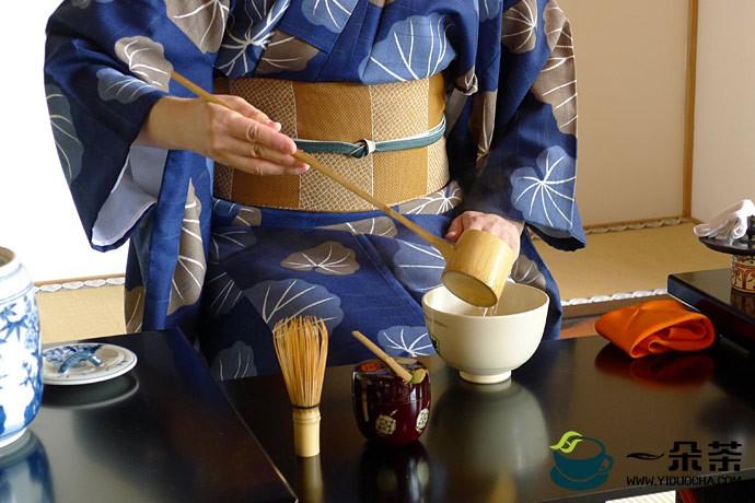 日本茶道的独特之处