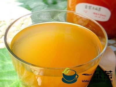 普洱木瓜茶的制作方法